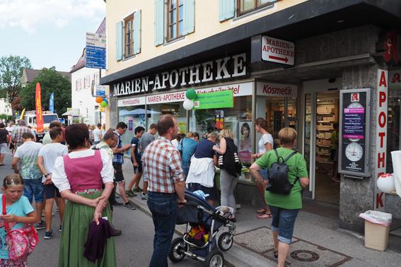 Tausende Besucher auf der Siegsdorfer Aktionsnacht